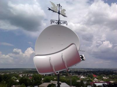 install toroidal dish_15