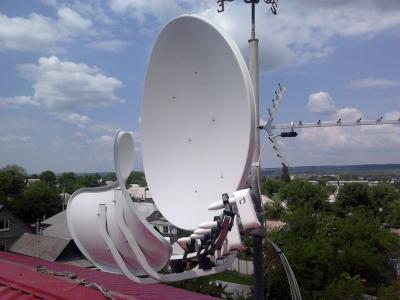 install toroidal dish_17