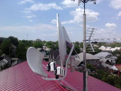 install toroidal dish_19
