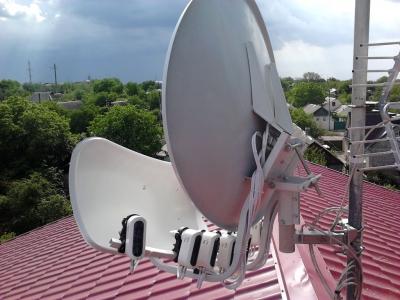install toroidal dish_1