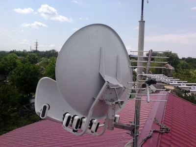install toroidal dish_22