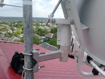 install toroidal dish_4