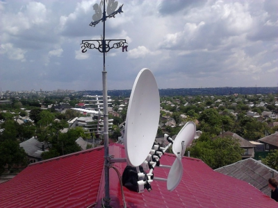 install toroidal dish_9