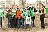 Радуга ТВ приняла участие в субботнике в Барнауле