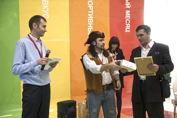 Награждение на CSTB-2012